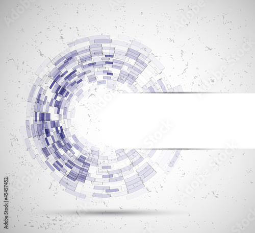 abstract circle tecnology business background