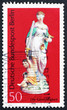 Postage stamp Germany 1974 Justice, by J. G. Muller, Porcelain