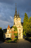 St. Nicholas Church, Brasov on beautiful light at sunset