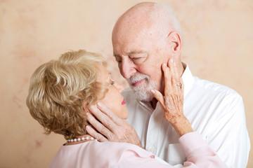 Moment of Tenderness - Senior Couple