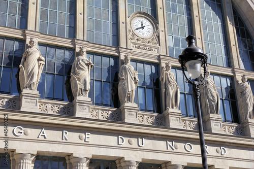 Leinwandbild Motiv Paris gare du Nord