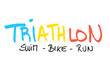 canvas print picture - Triathlon