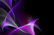Abstract color fractal background