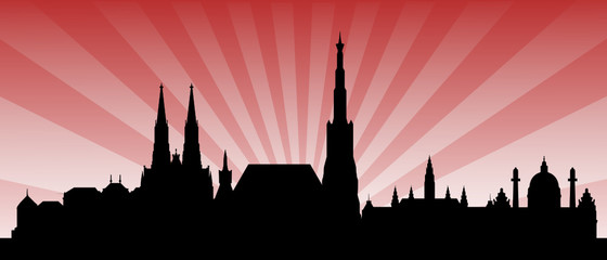 Wien Skyline