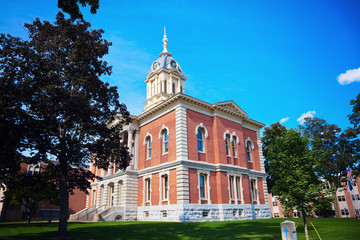 Old courthouse in Plymouth