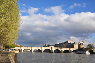Pont-Neuf bridge in Paris ....