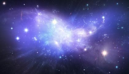 Beautiful galaxy background