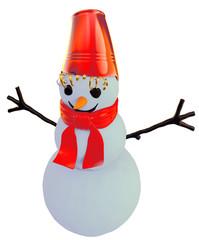 smilling snowman