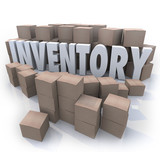 Inventory Word Stockpile Cardboard Boxes Oversupply Surplus