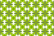 Green leaf flower pattern background