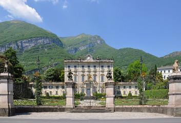 Villa la Quiete in Tremezzo. Lake Como, Italy