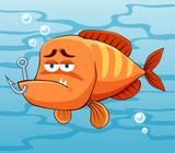 Fototapeta morze - oko - Ryba
