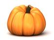 3d render of a pumpkin