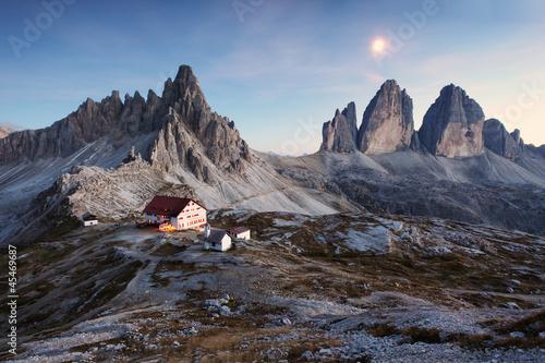 Leinwandbilder,dolomite,italien,berg,natur
