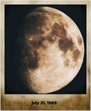 Fototapeta astronomia - czarny - Widok z lotu ptaka
