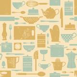 Vintage Kitchen Background