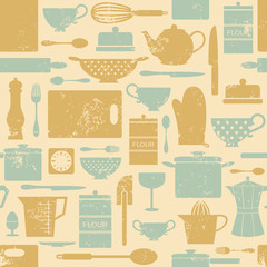 Vintage Kitchen Background