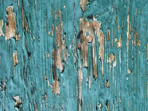 Old flaked wooden background