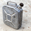 Old gasoline jerry can