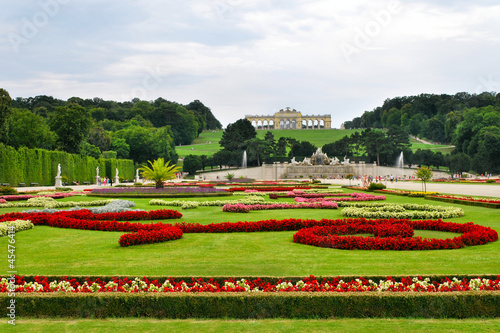 Gardens at Schonbrunn Palace, Vienna