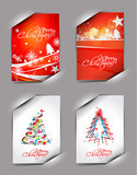 Christmas poster design for text project used.