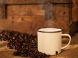 Kaffee Bohnen Tasse