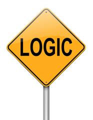 Logic concept.