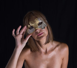 Donna mascherata