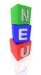 3D Bunte Würfel - NEU II