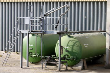 Heizoel Tank