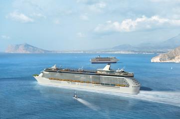Mediterranean cruise ship