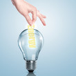 Electric bulb illustration