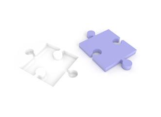 Das fehlende Puzzle Teil missing