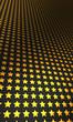 Sternen Matrix Hintergrund - gold schwarz 11