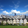 "San Francisco - Alamo park et les ""Painted ladies"""