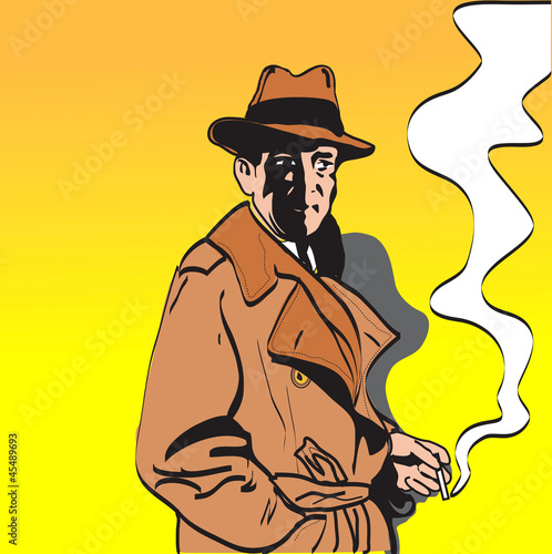 Detective Character - 45489693