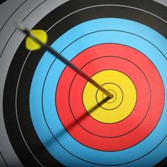 Arrow hit goal ring