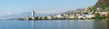 Panorama of Montreux, Switzerland