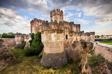Coca Castle (Castillo de Coca) is a fortification constructed in