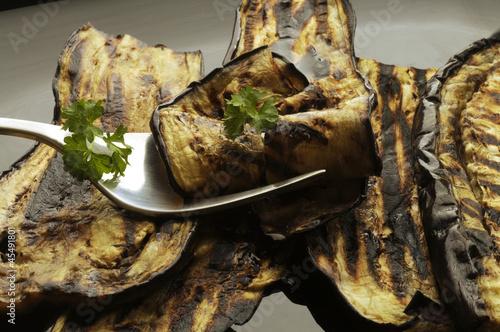 Grilled eggplant Berenjena a la parrilla 烤茄子