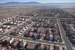 Desert Suburban Subdivision Aerial