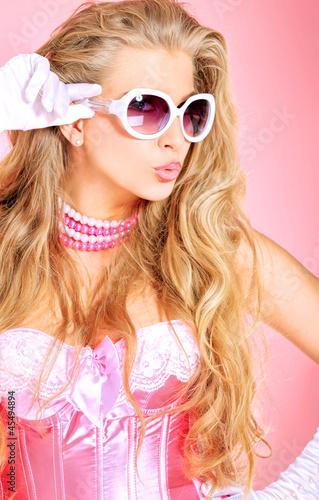 Glamour pink de andrey kiselev imagen libre de derechos - Definicion de glamour ...