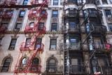 New York City Historic Tenement Apartment Building poster
