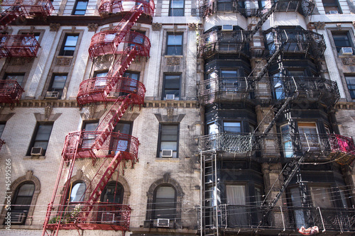 New York City Historic Tenement Apartment Building