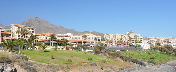 Costa Adeje.Tenerife island, Canaries