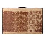 Vintage travel case poster