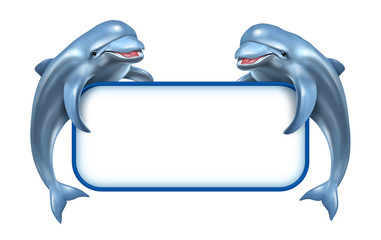 Dolphin Marine Sign