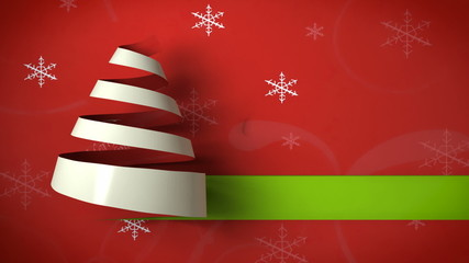 christmas tree paper curl 03
