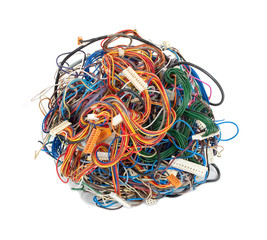 Tangle of wires
