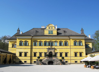 Hellbrunn palace in Salzburg, Austria